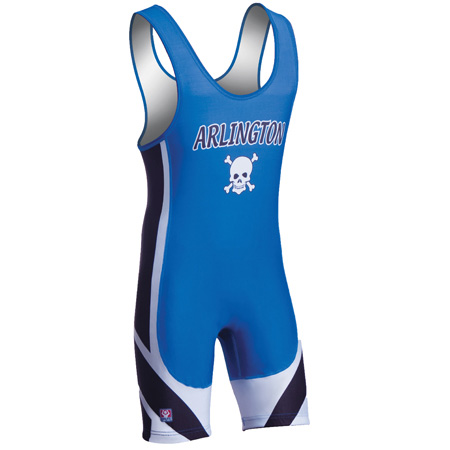 Brute Men's Arc Wrestling Singlet