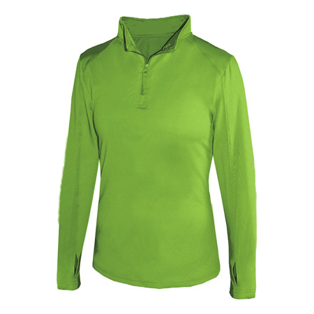 Badger 1/4 Zip Ladies Ltwt Pullover