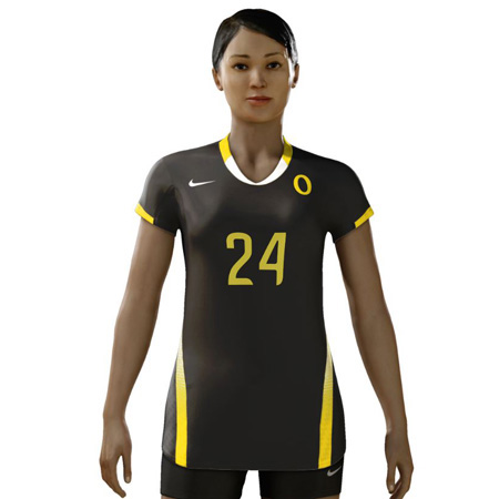 Nike Ace Cap Sleeve Digital Game Jersey