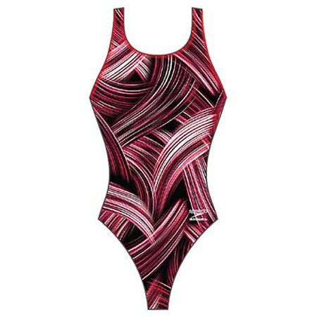 Speedo Turbo Stroke Drop Back Swimsuit