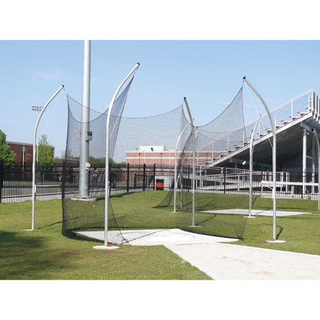 Gill High School Aluminum Shot Cage