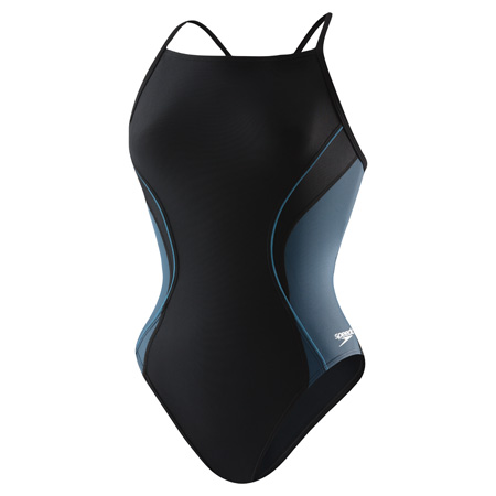 Speedo Revolve Splice Youth Energy Back