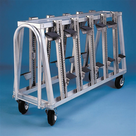 AAE Aluminum Block Cart