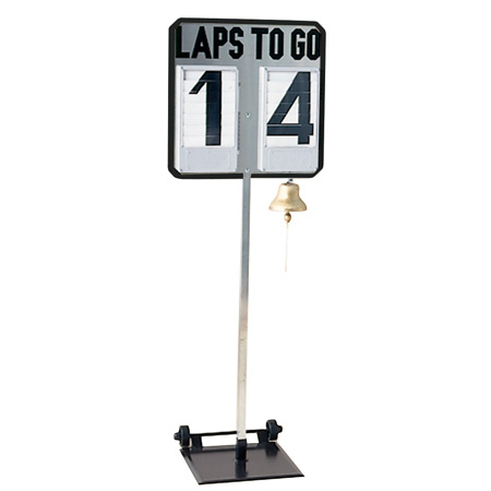 Lap Counter W/stand And Bell