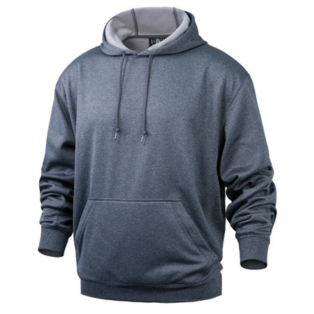 Men's Heather Pullover Hooded Sweatshirt