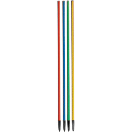 Ferruled Slalom Poles -170CMS set of 12