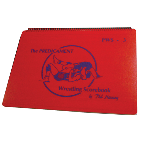 Predicament Wrestling Scorebook 48p Team
