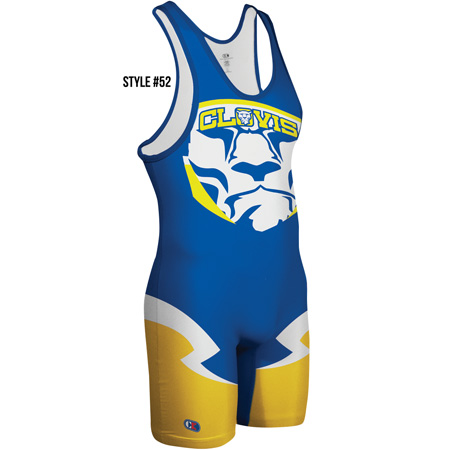 Cliff Keen Custom Sublimated Singlet