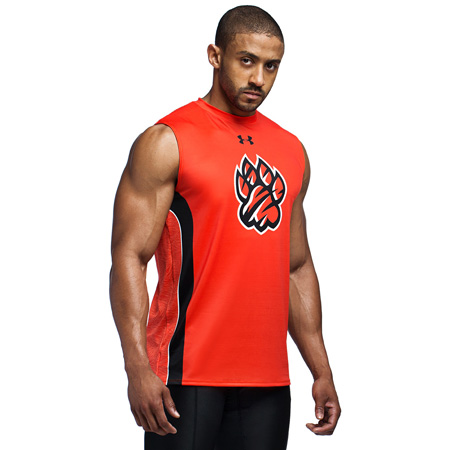 UA Armourfuse Mens Compression Sleeveles